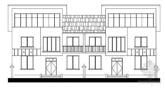 [河南省]新农村某二层住宅建筑设计方案