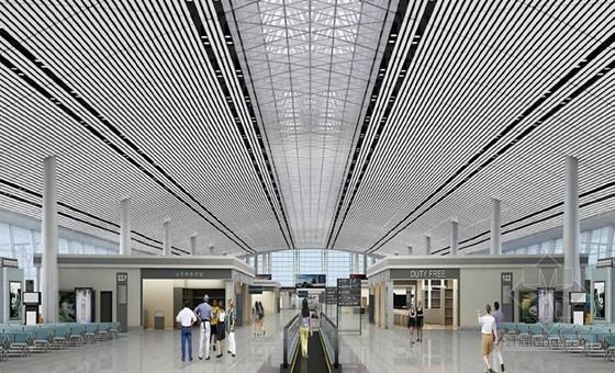 [QC成果]大空间弧形铝板吊顶安装质量控制
