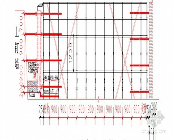 [北京]框架剪力墙结构综合大楼单面支模板施工方案