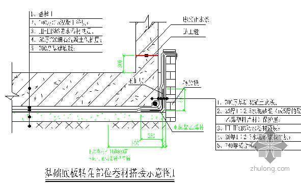 北京某办公楼地下结构防水施工技术交底