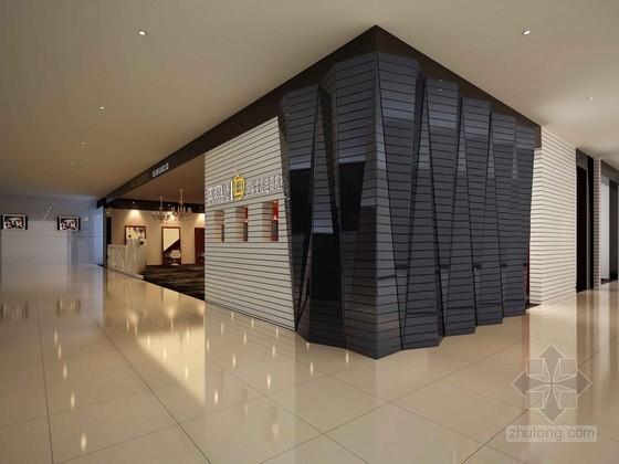 国际美发店3D模型下载