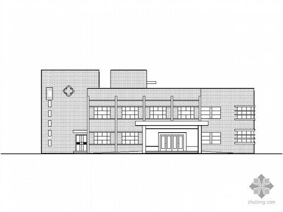 某二层卫生院建筑方案CAD图