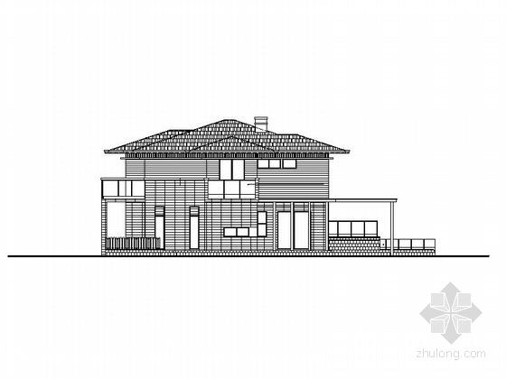[上海]现代风格别墅群规划及单体建筑施工图(知名设计院 480余张)