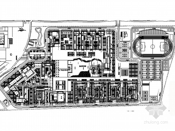 [东莞]大学高校市政景观规划设计施工图
