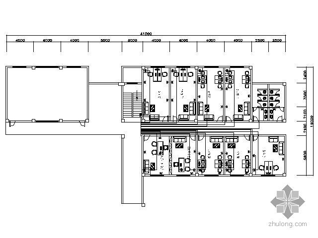 [湖南]某园林局办公空间装修图(含效果)