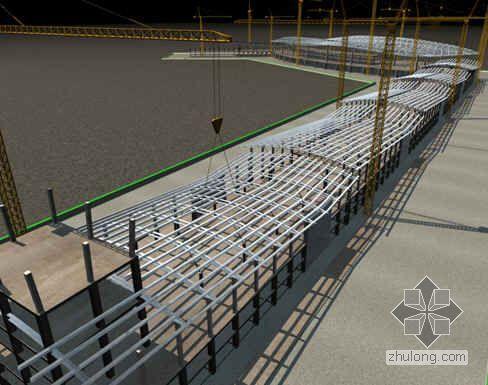 江西某机场航站楼施工进度计划及保证措施