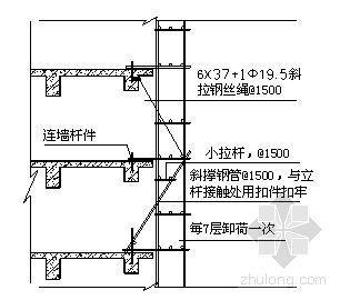 深圳某高层外墙悬挑脚手架专项施工方案