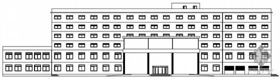 某旅馆建筑设计施工图(毕业设计)