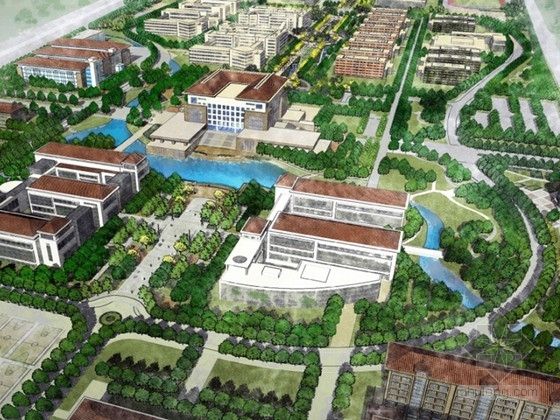 [南京]生态人文校园景观方案设计文本