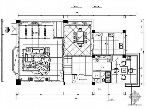 [四川]中式风格复式楼方案