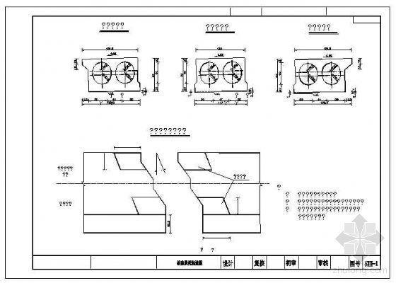 全套20m先简支后连续后张法空心板设计图