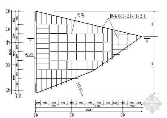 某网架结构全套施工图纸