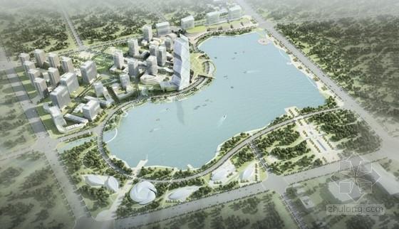 [湖北]滨水现代风格电商产业园概念性设计方案文本