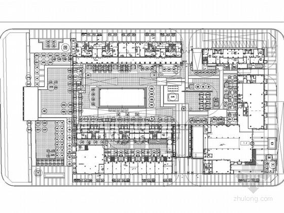 U型景观泳池结构施工图资料下载-[宁波]综合型高档住宅小区景观设计施工图