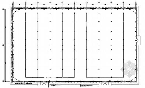 某一层厂房电气施工图