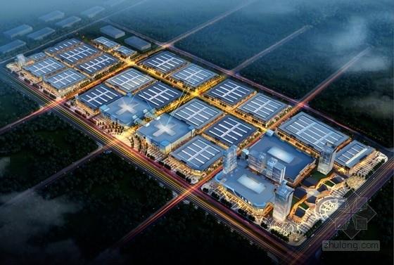 [河南]高层国际商贸城规划及建筑设计方案文本