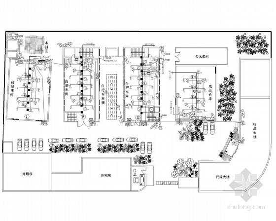 [江苏]厂区数字高清全智能监控安保平面图