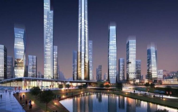 """河西将建600米""""南京第一高楼"""",瞬间秒超现有第一高楼紫峰大厦"""