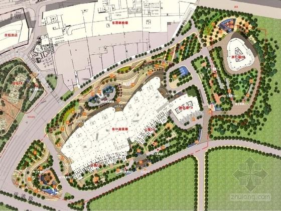 [厦门]现代滨水国际商业区景观规划设计方案