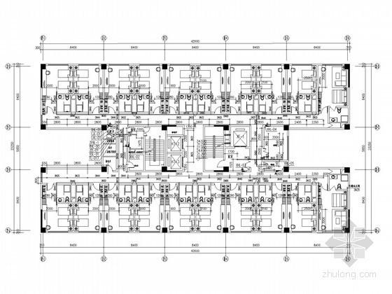 [河南]知名大型商业综合体给排水施工图纸(大空间灭火 制冷换热站)