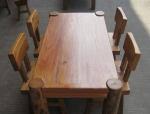 原木家具与实木家具的区别