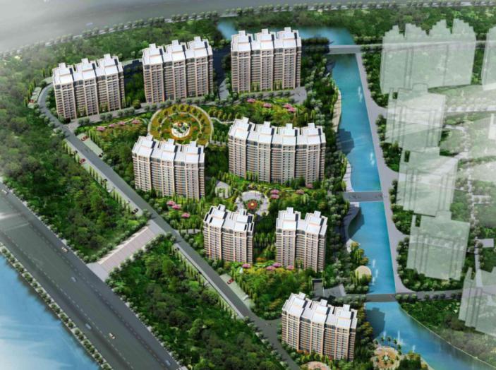 [浙江]宁波万科金色水岸三期居住区规划设计方案文本