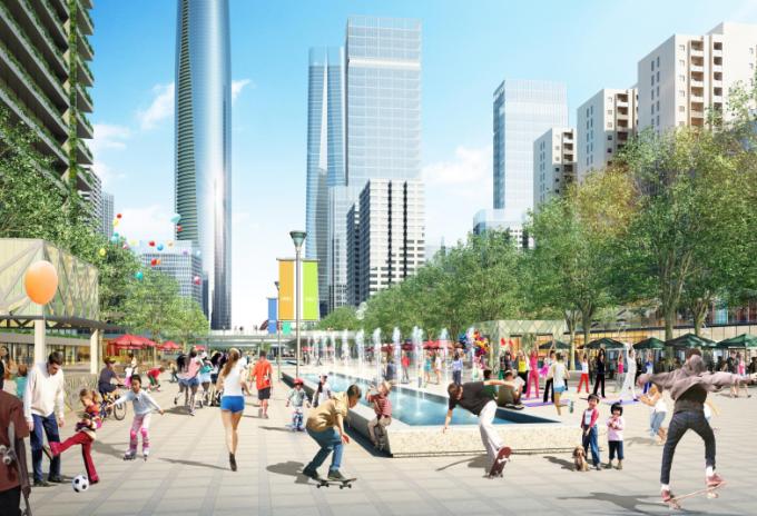 [湖北]生态海绵城市中央绿轴地下立体化商业广场景观绿化设计方案(2017最新)_5