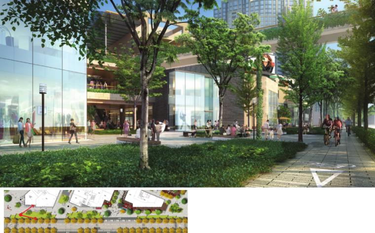 [上海]瑞虹路街道景观方案设计(PDF+16页)-节点效果