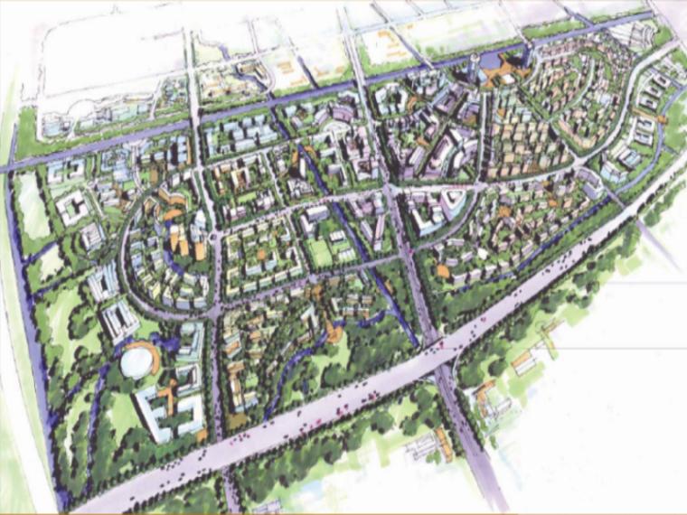 [上海]张江社区规划及建筑方案文本