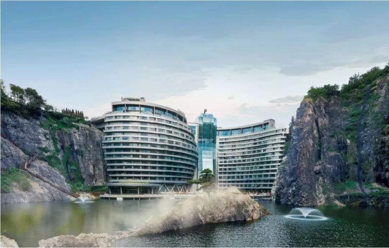 投入20亿的工程奇迹深坑酒店终于开业了,内部设计大曝光!_10