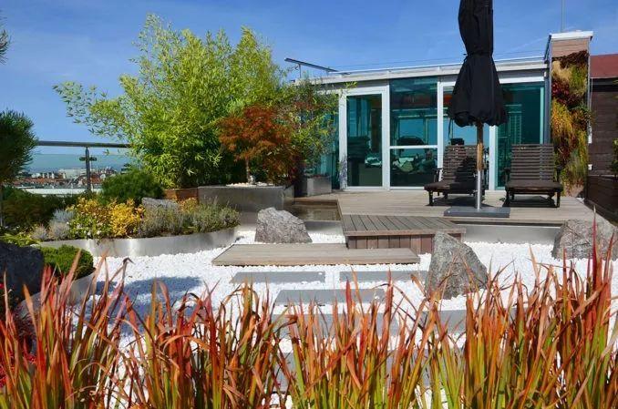 禅宗屋顶花园,一个可以思考的空间!