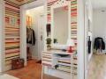 62平二居室装修豪华壁纸添活力实景图
