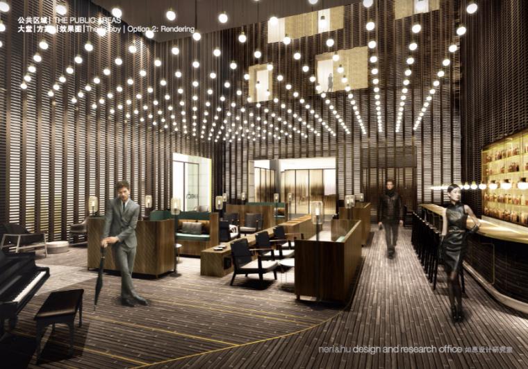 [上海]艾迪逊酒店建筑改造内装概念设计方案文本