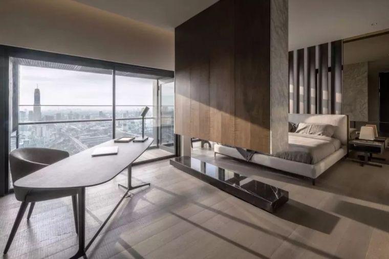 室内设计 130㎡的单身公寓,设计感十足_31