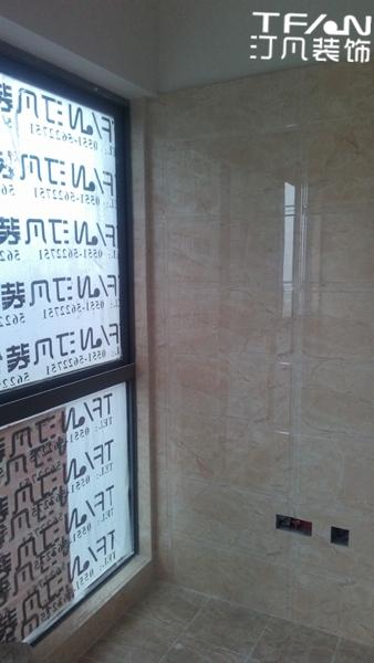 [汀凡装饰]华侨广场75平米 瓷砖铺贴进行中
