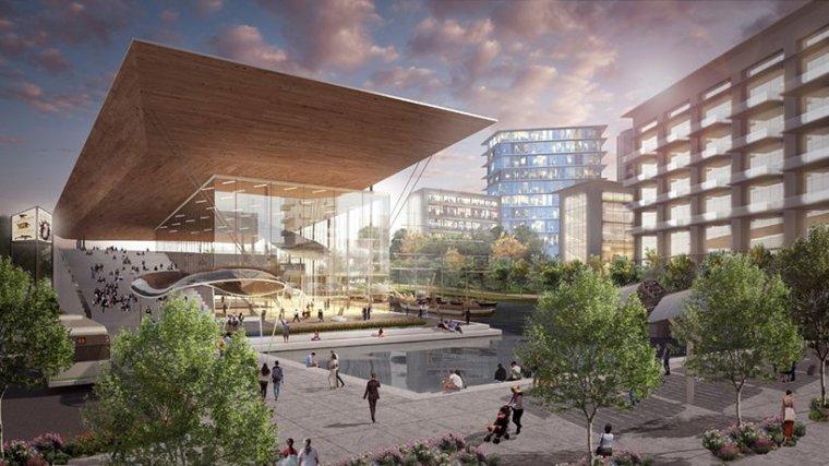 瓜亚基尔全新城市中心总体规划