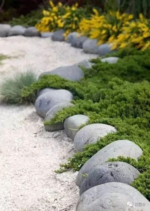 花草与石板的关系•花园小径_29