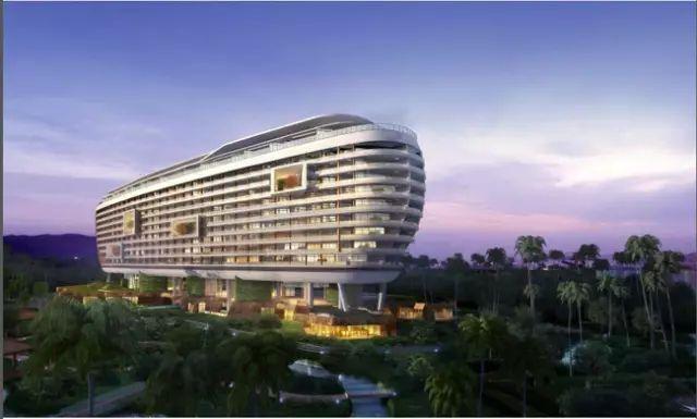 [BIM案例]三亚海棠湾皇冠假日酒店引进鲁班BIM技术