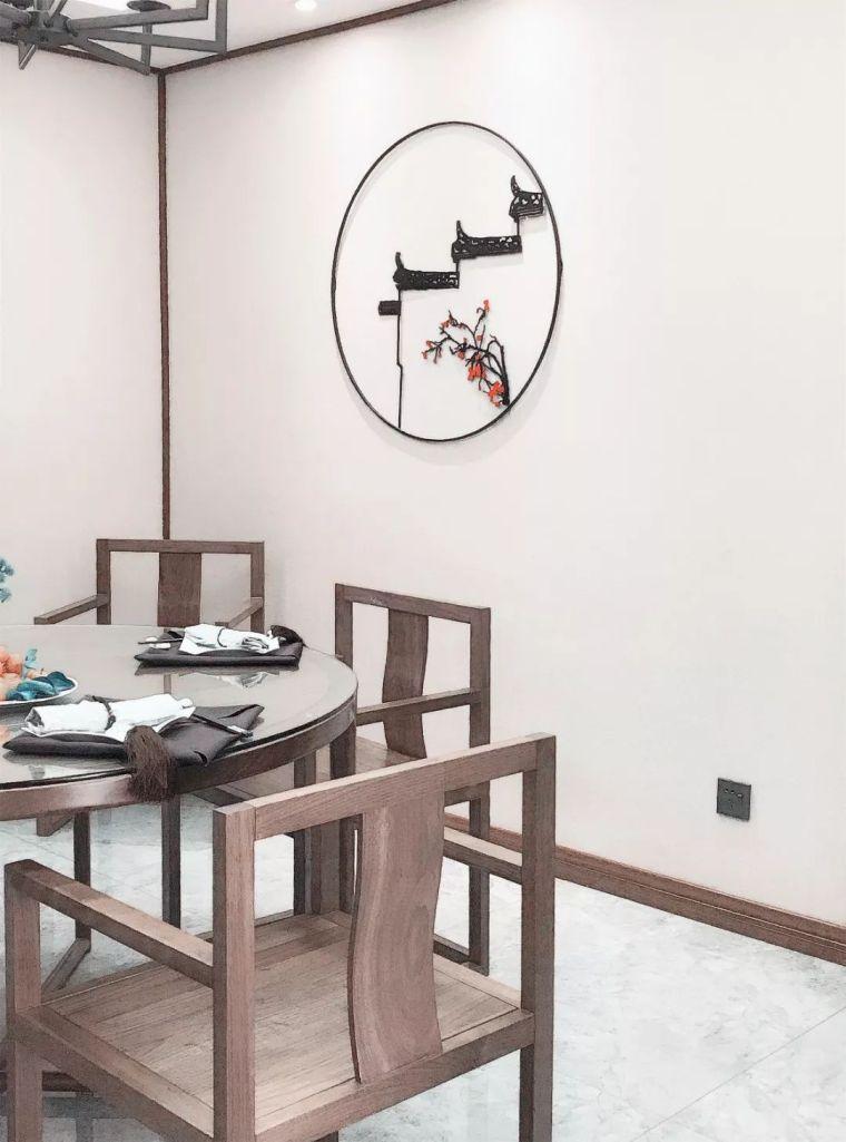 新中式徽派元素山水画为轴线的家装设计_20
