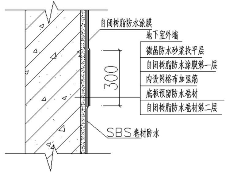 [天津]国际医院工程防水工程施工方案(自闭树脂涂膜,鲁班奖)