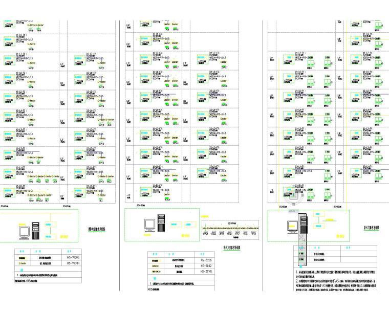 某图书馆电气施工图全套(含电气、照明、配电、消防联动)_8