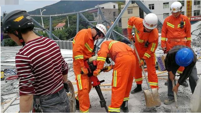 莆田一在建3层房屋发生坍塌 5人死亡13人受伤