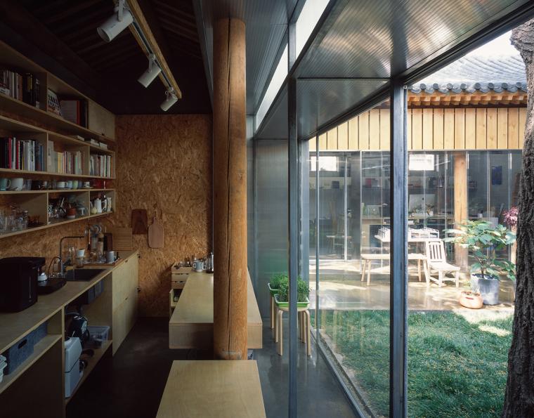 北京胡同中的工作室改造-11