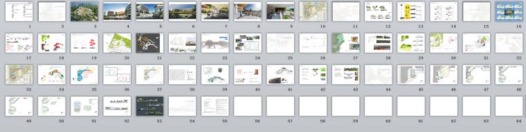 [广东]某新区学校建筑设计文本-总缩览图啊