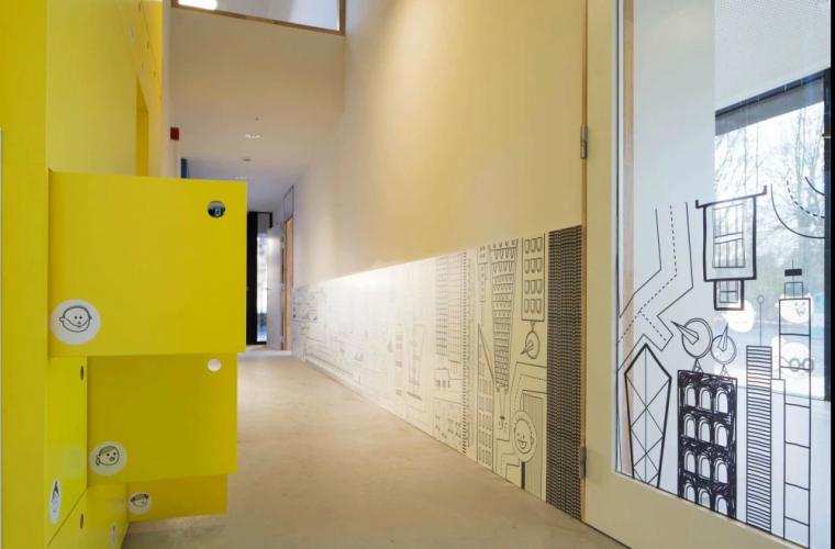比利时的乡村幼儿园室内设计概念方案