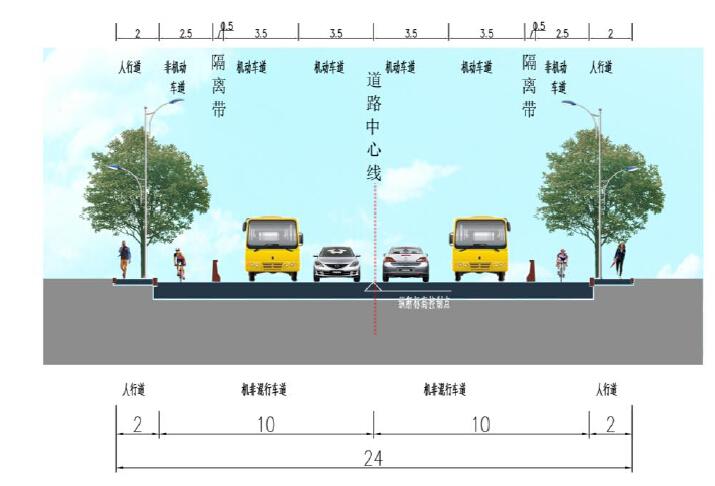 市政道路提升改造工程设计方案投标文本94页附177张图纸(拼宽桥拼宽路基,路桥交通景观)_8