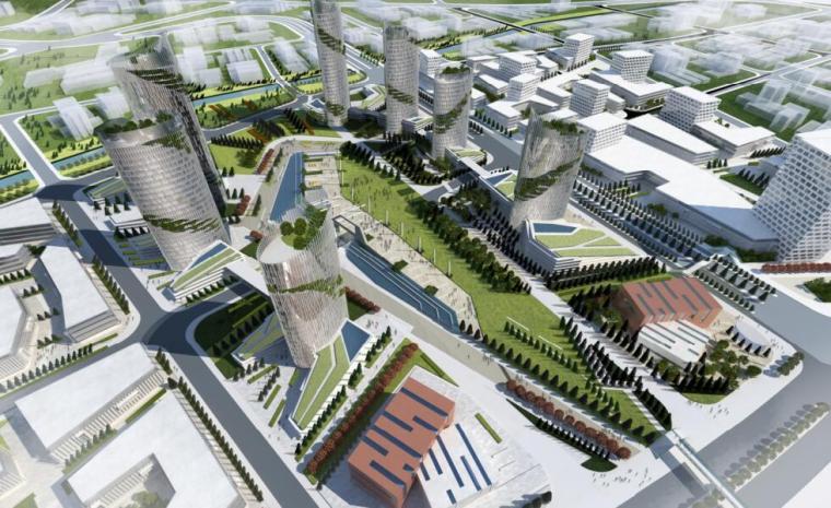 [北京]某城市之窗商业景观方案设计文本PDF(76页)