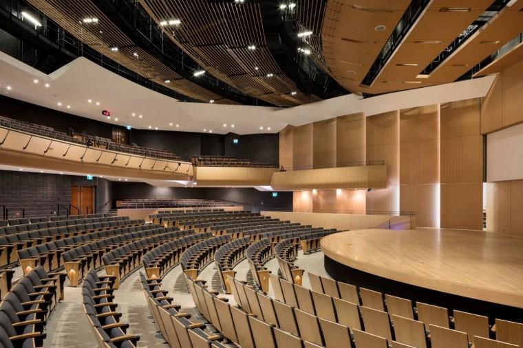 劳里埃大学拉扎里迪斯大楼内部实景图 (11)