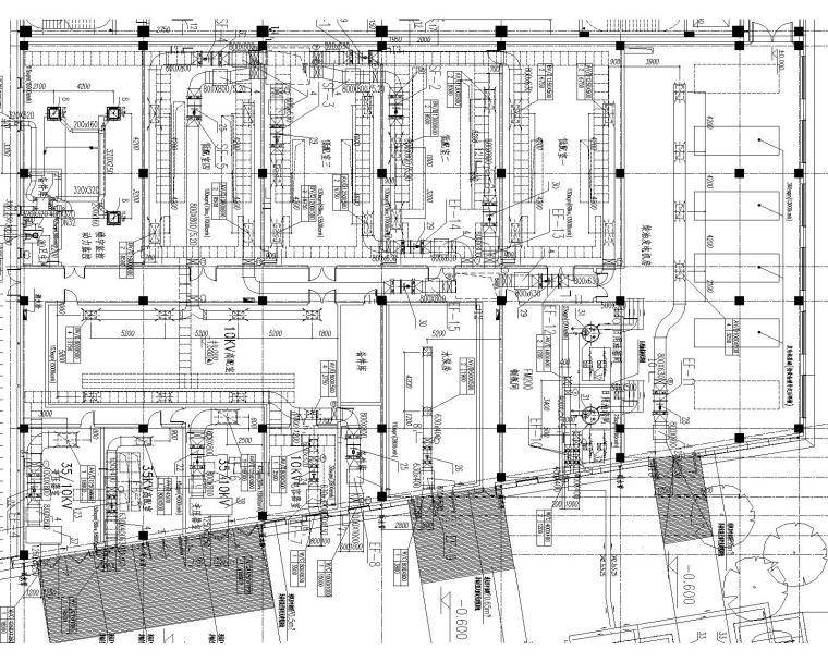 [上海]某大型数据处理中心暖通施工图_3