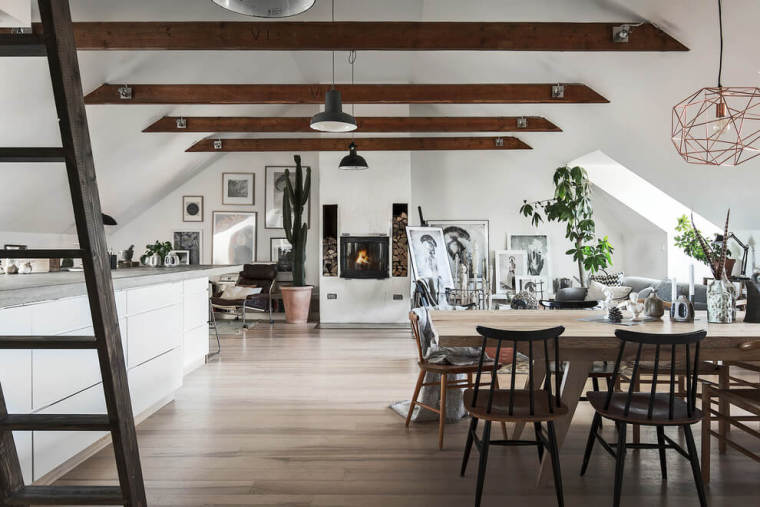 瑞典高格调的阁楼公寓-101738j5qkvq247vulc5lr